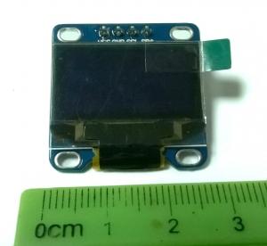 """OLED графический дисплей 0.96"""" (128x64, I2C)"""