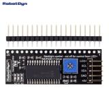 Адаптер i2c для дисплеев 128x64 (MCP23017)