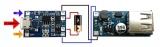 DC-DC Повышающий преобразователь напряжения с USB выходом 5В