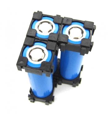 Кронштейн-ячейка для одной батареи 18650