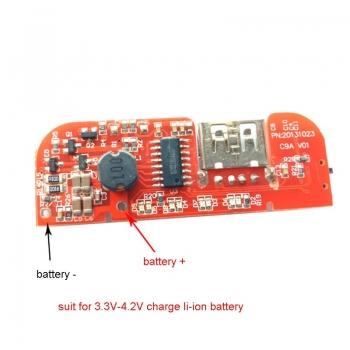 Модуль для PowerBank с индик. заряда 1xUSB