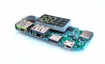 Модуль для PowerBank 2xUSB с дисплеем