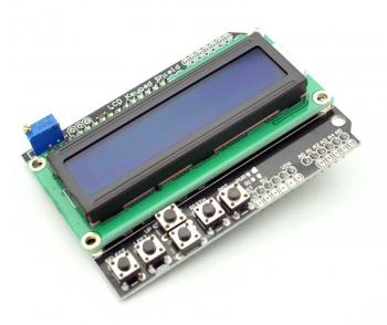LCD Keypad Shield для Arduino с клавиатурой