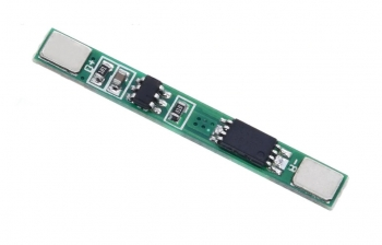 Контроллер заряда/разряда Li-Ion BMS-1S 3А