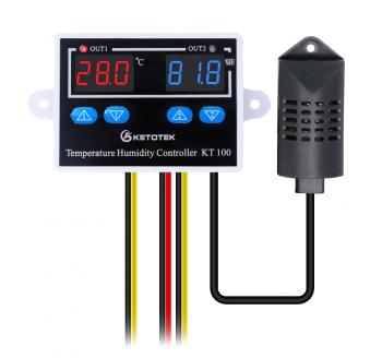 Контроллер температуры и влажности KT100