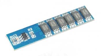 Контроллер заряда/разряда LiFePo4 BMS-1S 12А