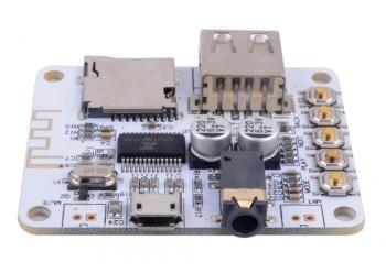 MP3 плеер и Bluetooth приемник на плате