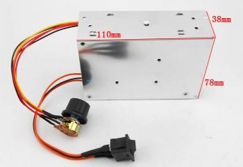 Регулятор скорости мотора ШИМ в корп. (10-50В/40A)