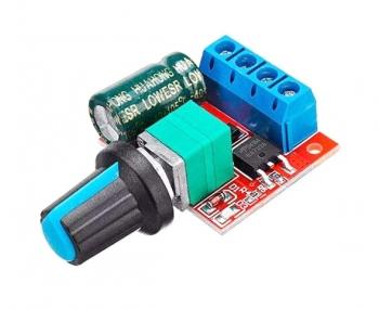 Регулятор скорости мотора ШИМ (4-35В)