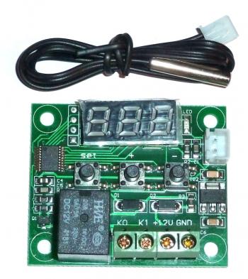 Реле термостат 12В (W1209)