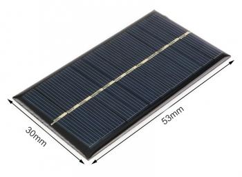 Солнечная панель 53*30мм