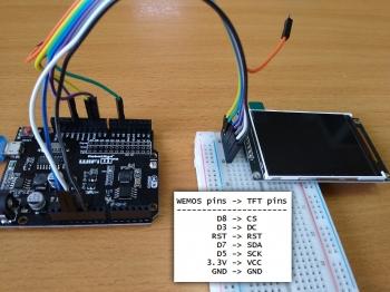 Подключение к ESP8266 Wemos D1