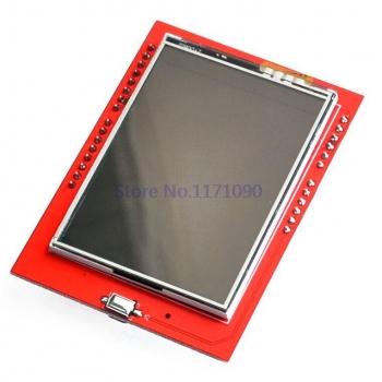 "TFT шилд 2.4"" сенсорный c MicroSD"