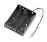 Батарейный отсек 3*18650 с проводами