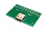 Гнездо USB Type-C на плате