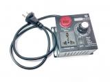 Регулятор мощности (диммер) 220В/4000Вт в мет.корпусе