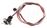 Концевик механический на плате 13x13 с кабелем
