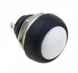 Кнопка без фиксации PBS-33B белая