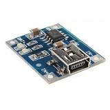 Модуль ЗУ для Li-Ion (TP4056, miniUSB)