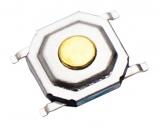 Кнопка тактовая SMD 4*4*1.5мм