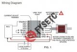 Драйвер шагового двигателя THB6128
