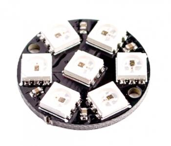 Светодиодное кольцо NeoPixel 7x WS2812B